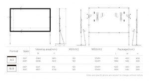 Heavy Duty E set Fast fold Screen