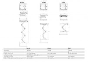 Motorized Projector Lift CM50 150