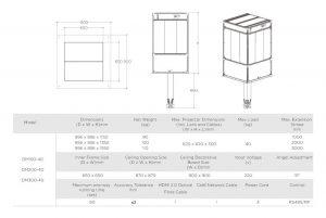 DM Series Telescopic Projector Lift