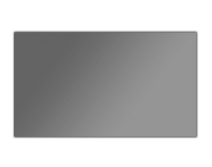 Radiant Rimless Fixed Frame